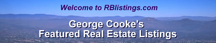 Welcome to RBListings.com, Featured Listings by George Cooke